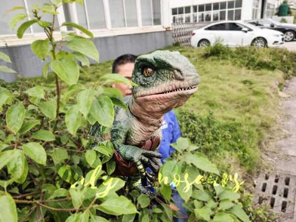 Realistic Raptor Glove Puppet for Jurassic Park10