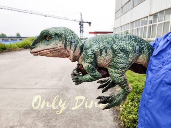 Realistic Raptor Glove Puppet for Jurassic Park3