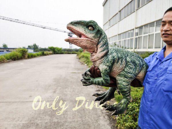 Realistic Raptor Glove Puppet for Jurassic Park5