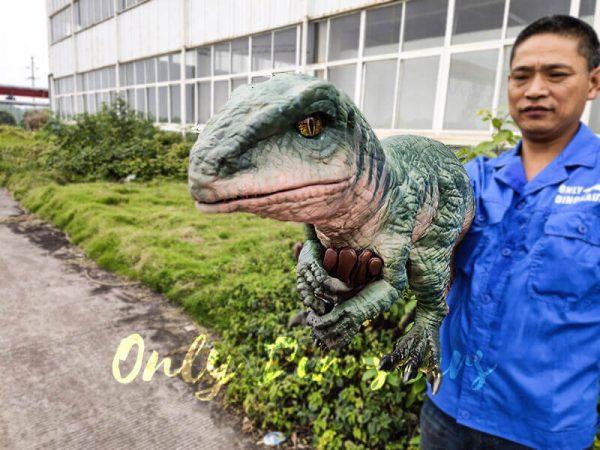 Realistic Raptor Glove Puppet for Jurassic Park8