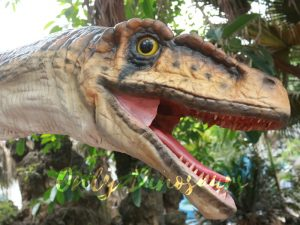 Realistic Strip Velociraptor Shoulder Puppets