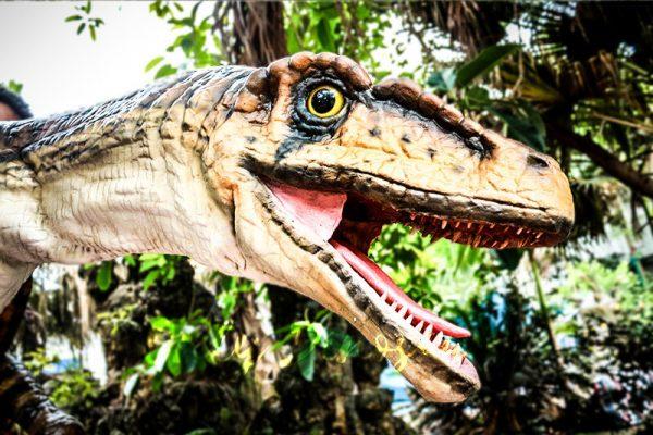 Realistic Strip Velociraptor Shoulder Puppets2