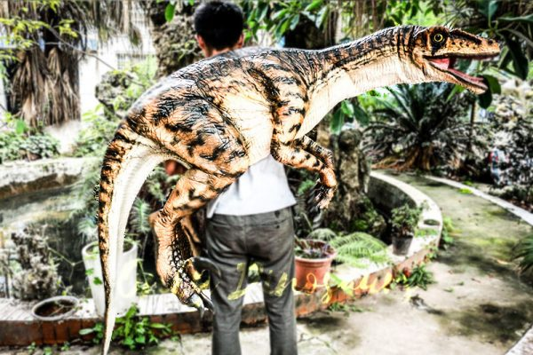 Realistic Strip Velociraptor Shoulder Puppets3