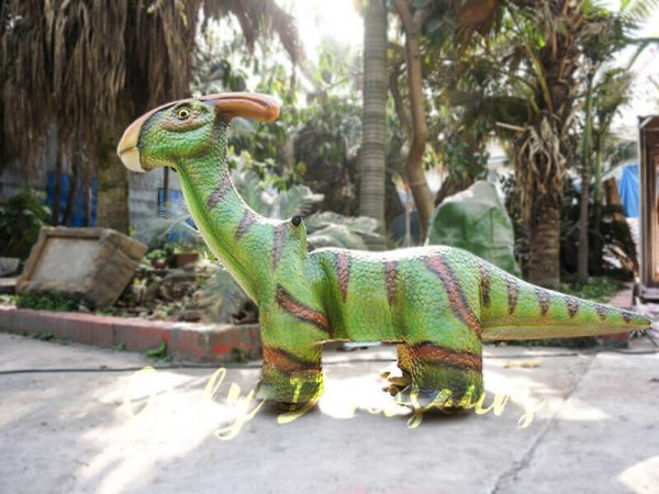 Rideable Dinosaurs Parasaurolophus in Green1