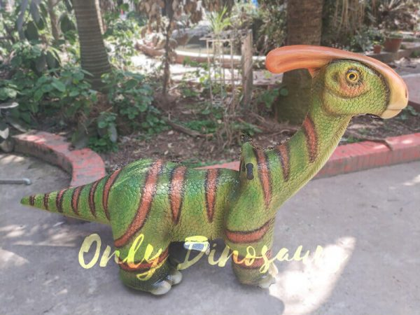 Rideable Dinosaurs Parasaurolophus in Green2