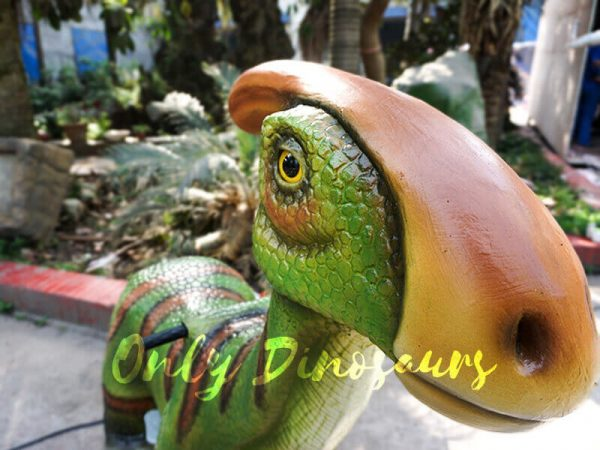 Rideable Dinosaurs Parasaurolophus in Green3