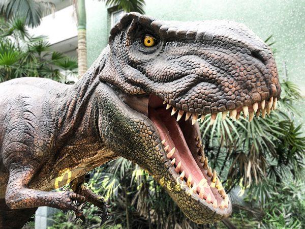Scary Animatronic Tyrannsaurus rex for Jurassice Event3