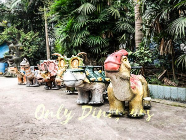Shopping Mall Rideable Dinosaurs in Group for sale2