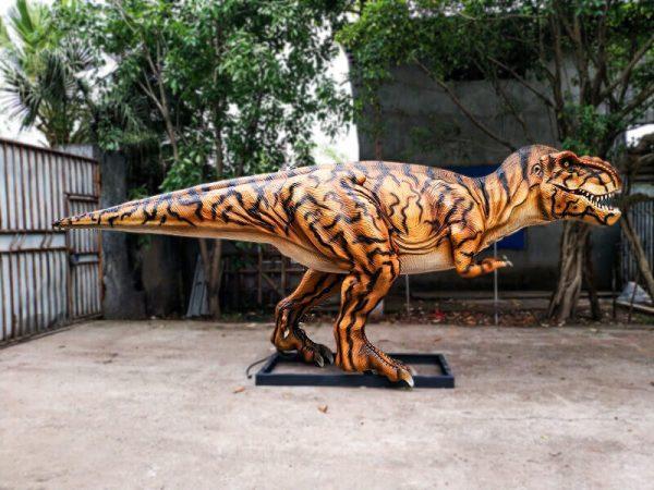 Stripe Jurassic Park T rex Animatronic Model2