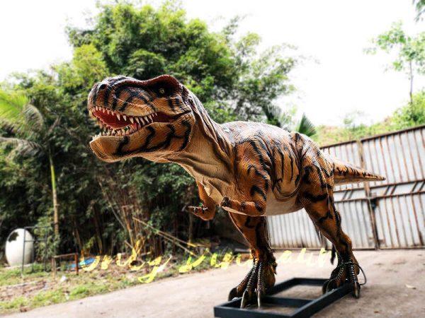 Stripe Jurassic Park T rex Animatronic Model4