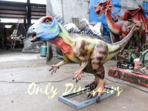 Unique Dinosaur Animatronic Hypsilophodon for Dinosaur Exihibiton