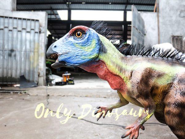 Unique Dinosaur Animatronic Hypsilophodon for Dinosaur Exihibiton2