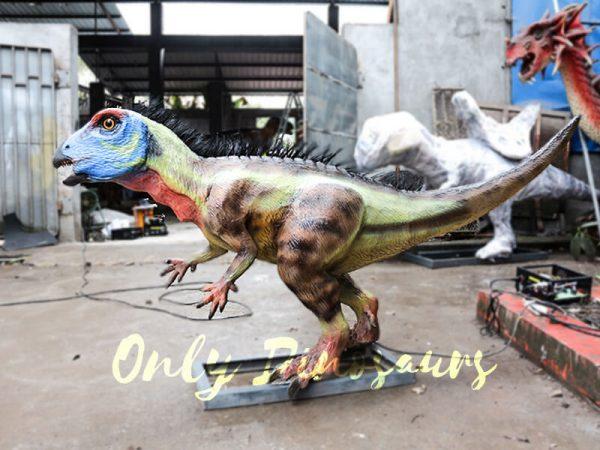 Unique Dinosaur Animatronic Hypsilophodon for Dinosaur Exihibiton3