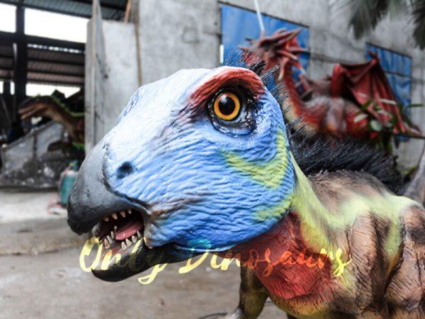 Unique Dinosaur Animatronic Hypsilophodon for Dinosaur Exihibiton4