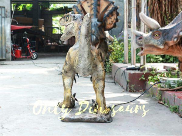Velociraptor Animatronic Decoration of Park4