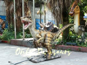 Velociraptor Animatronic Decoration of Park