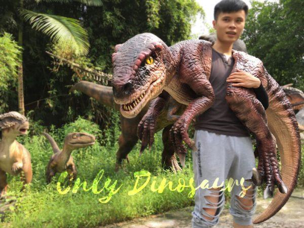Velociraptor-Shoulder-Puppet-Brown-For-Puppeteer2-1