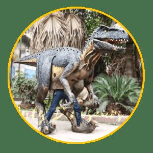 visible legs dinosaur costume thumbnail