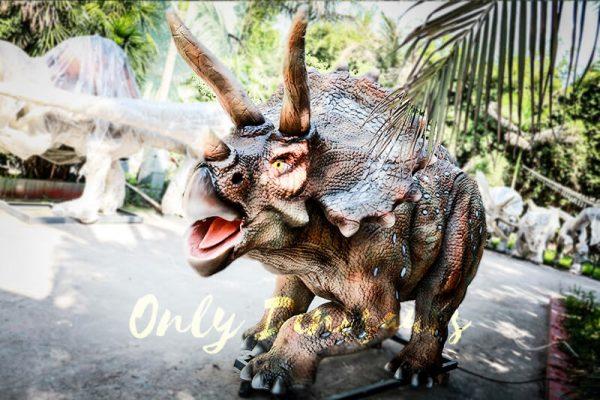 Vivid Exhibit Dinosaur Animatronics Triceratops4