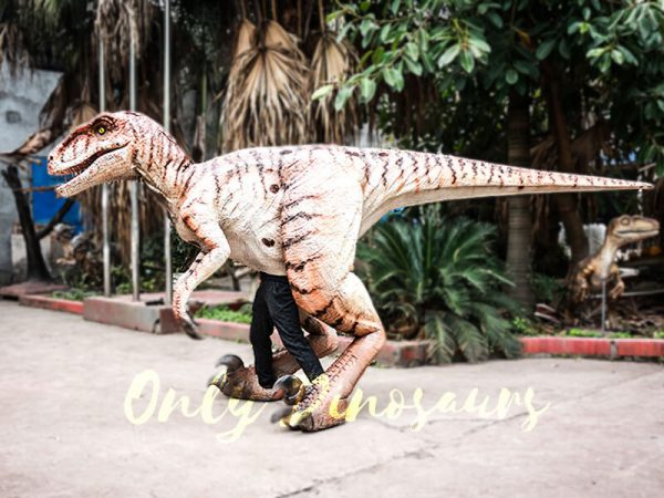Walking Dinosaurs Raptor Costume Visible Legs6