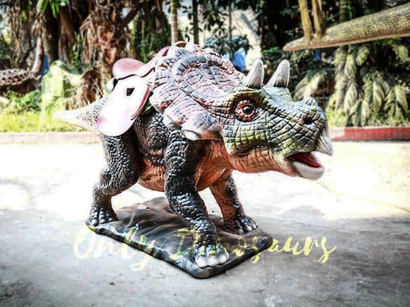 Amuseum Park Ride on Triceratops Dinosaur Facility1
