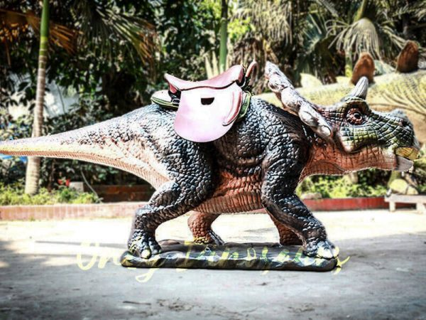 Amuseum Park Ride on Triceratops Dinosaur Facility3