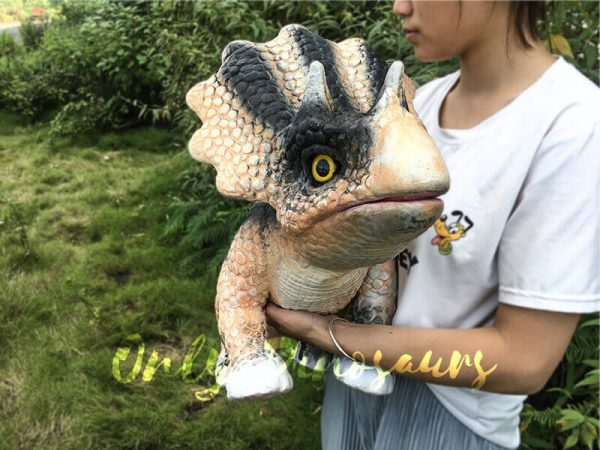 Arm Puppet Baby Triceratops for Workshop2