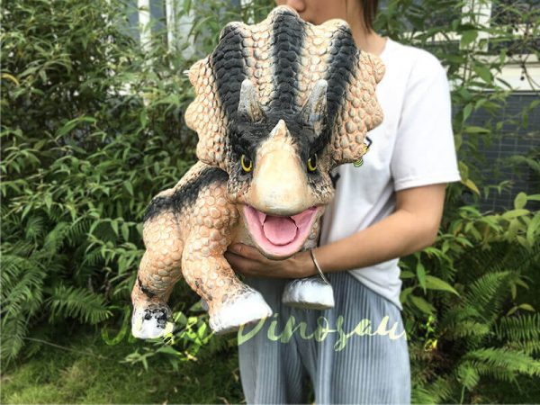 Arm Puppet Baby Triceratops for Workshop3