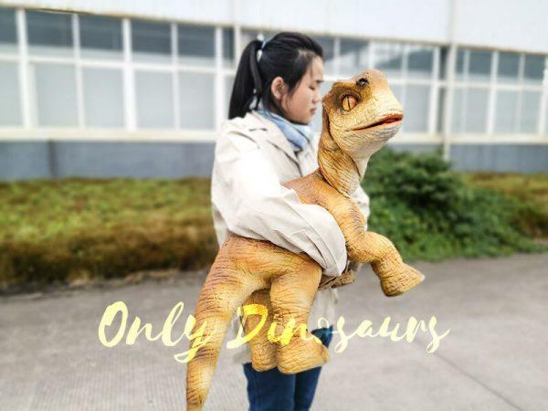 Baby Dinosaur Lifesize Puppet Arm Control1