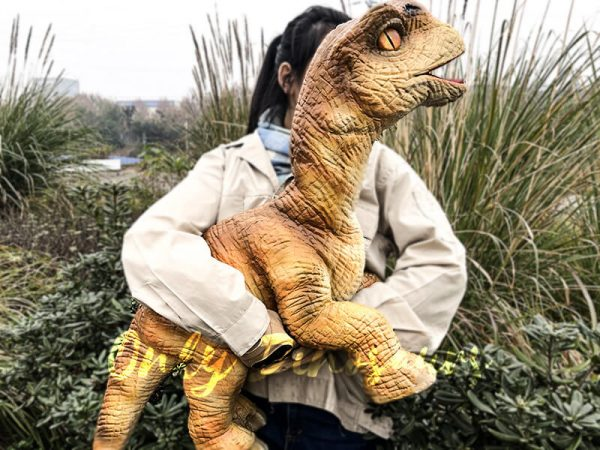 Baby Dinosaur Lifesize Puppet Arm Control3