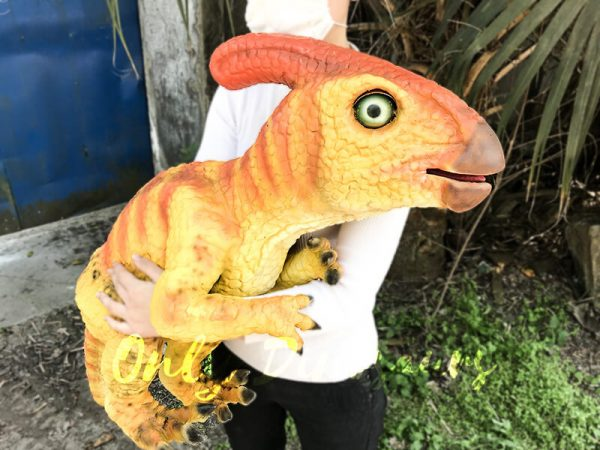 Baby Dinosaur Puppet Parasaurolophus for Baby1
