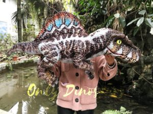 Baby Spinosaurus Dinosaur Hand Puppet for Kids