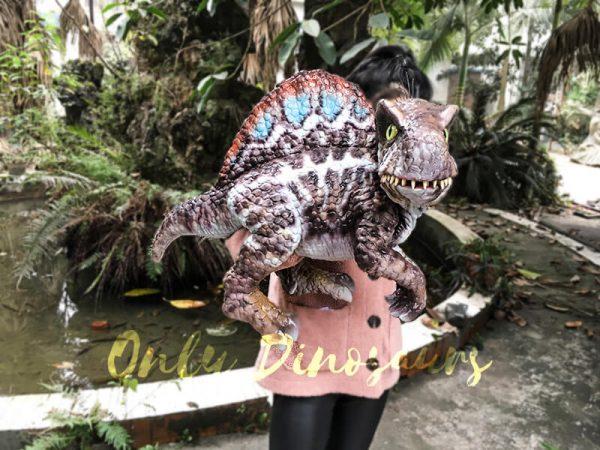 Baby Spinosaurus Dinosaur Hand Puppet for Kids2