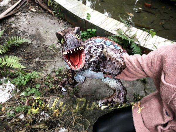 Baby Spinosaurus Dinosaur Hand Puppet for Kids5