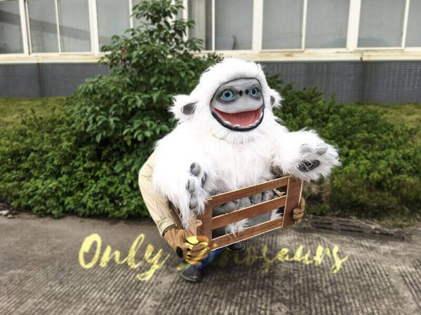 Baby Yeti Puppet in Crate2
