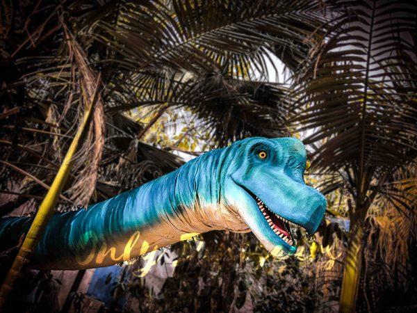 Brachiosaurus Long Neck Puppet Lifelike Prop1
