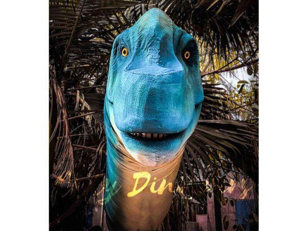 Brachiosaurus Long Neck Puppet Lifelike Prop4