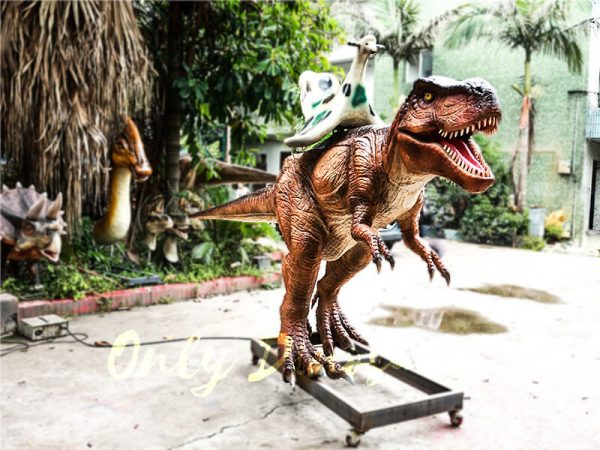 Coin operated Ride on T rex Dinosaur1