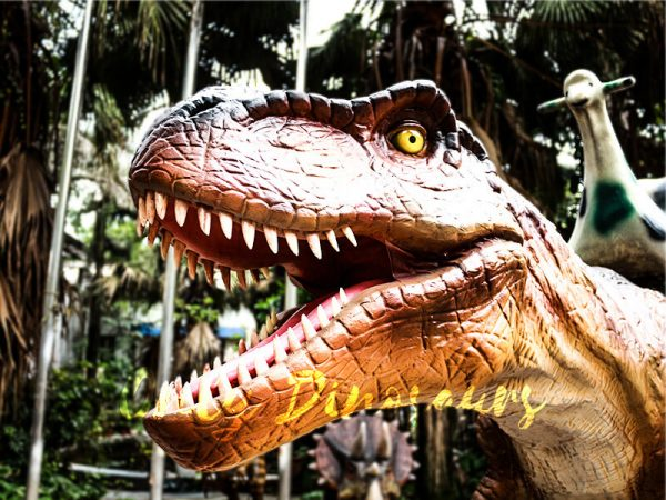 Coin operated Ride on T rex Dinosaur2