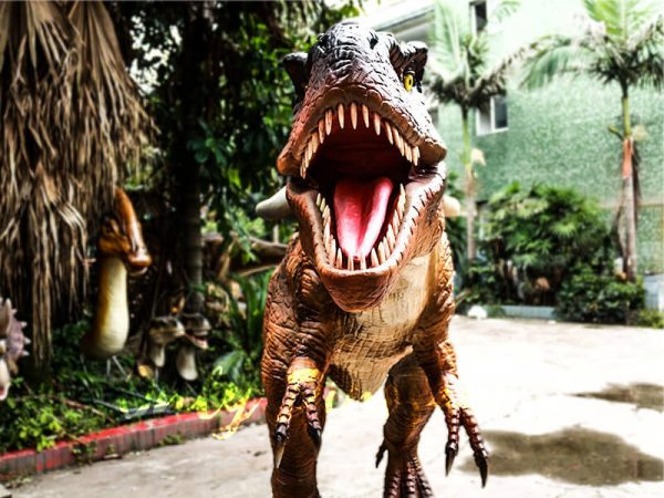 Coin operated Ride on T rex Dinosaur3