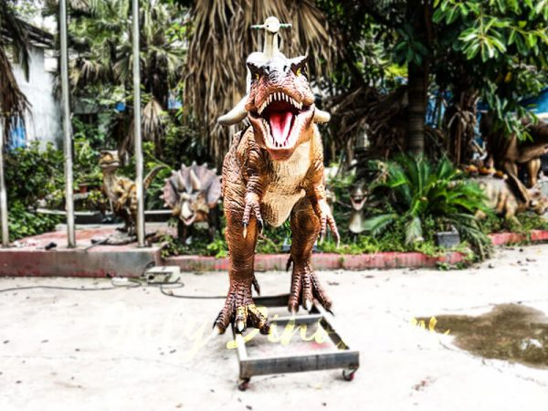 Coin operated Ride on T rex Dinosaur4