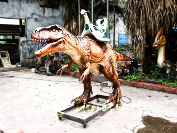 Coin operated Ride on T rex Dinosaur6