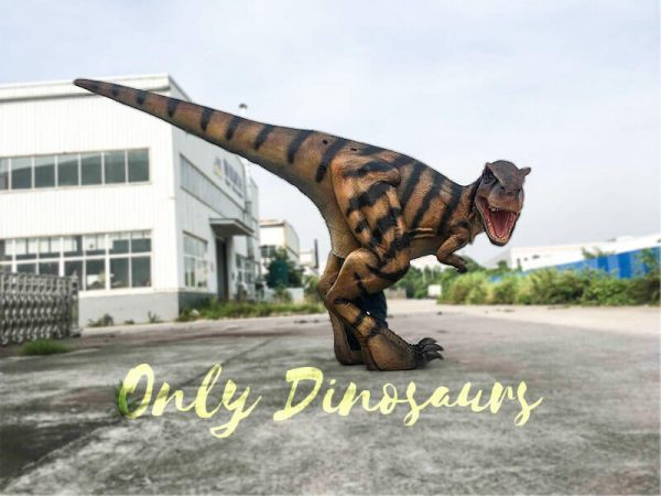 Costume Realistic T rex with tiger stripe1