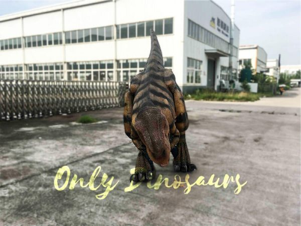 Costume Realistic T rex with tiger stripe3