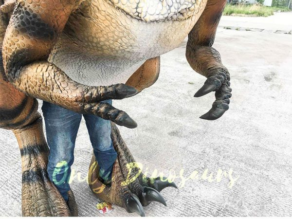 Costume Realistic T rex with tiger stripe6
