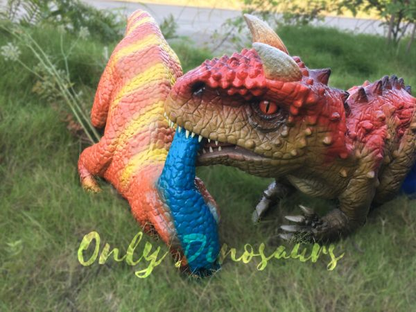 Cute-Realistic-Puppets-Carnotaurus-in-Red-Brown5-1