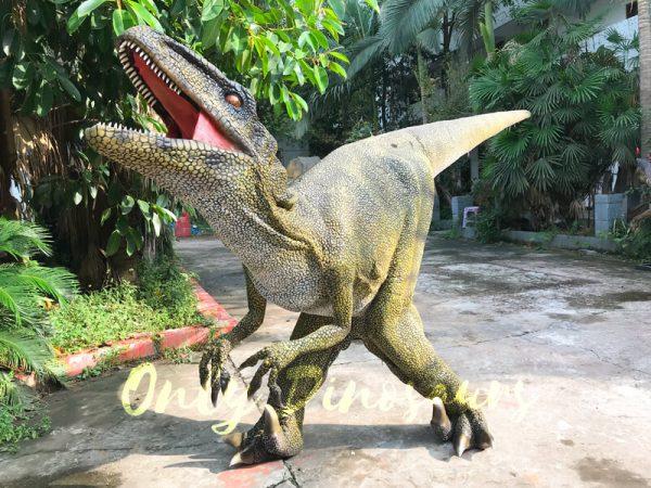 Dinosaur-Costume-Real-Raptor-In-Green444
