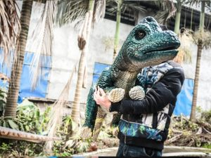 Dinosaur Hand Puppet Brachiosaurus for Show