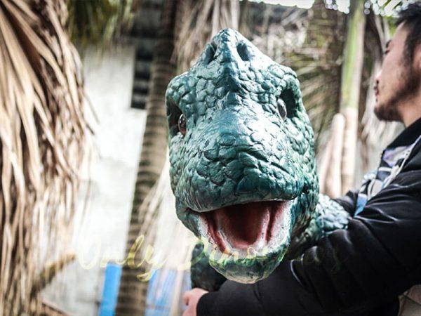 Dinosaur Hand Puppet Brachiosaurus for Show4