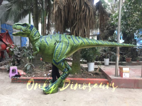 Dinosaur-Realistic-Costume-Of-Green-T-Rex666